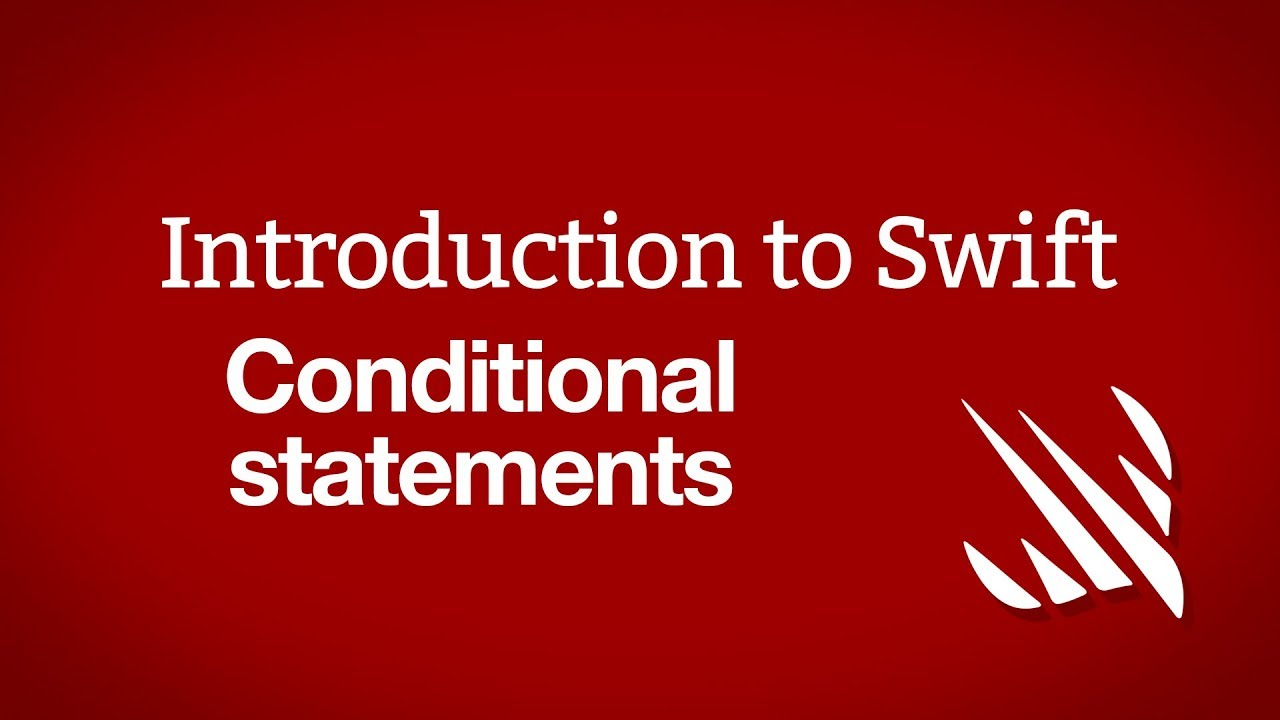 Introduction to Swift: Conditional statements