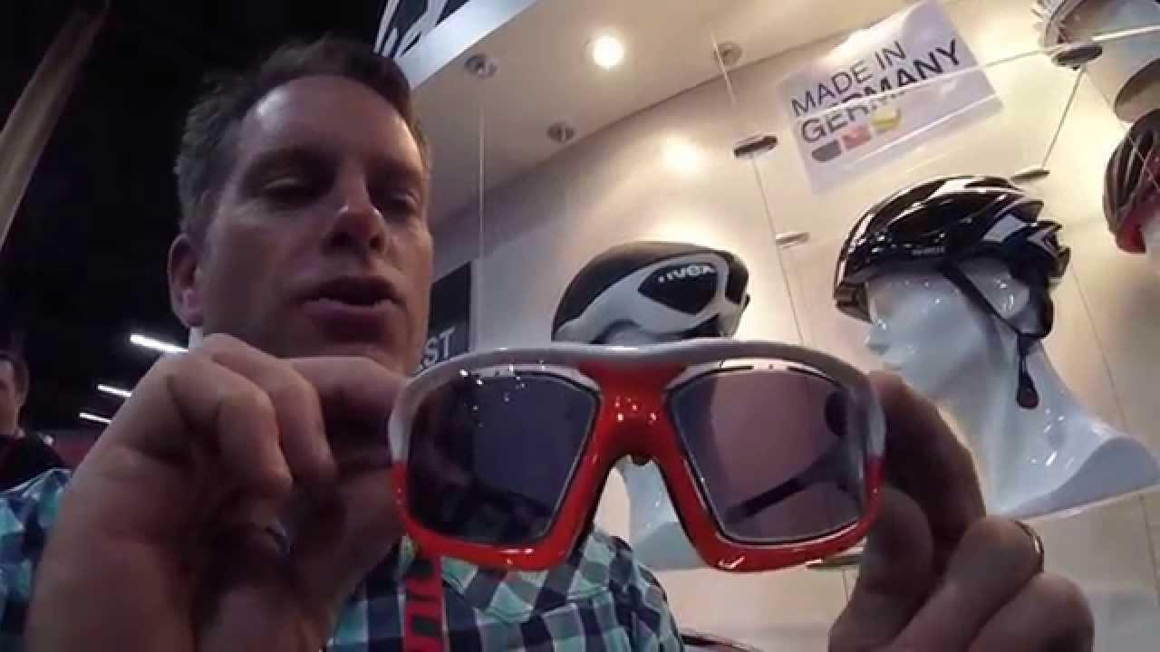53522682c79 Uvex Variotronic S Sunglasses at 2015 Interbike - YouTube