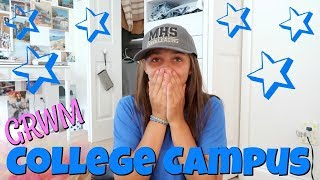 grwm for uca cheer camp going to college for a week