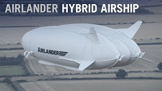 The Airlander Hybrid Airship, the World's Longest Aircraft, Takes to the Skies – AINtv