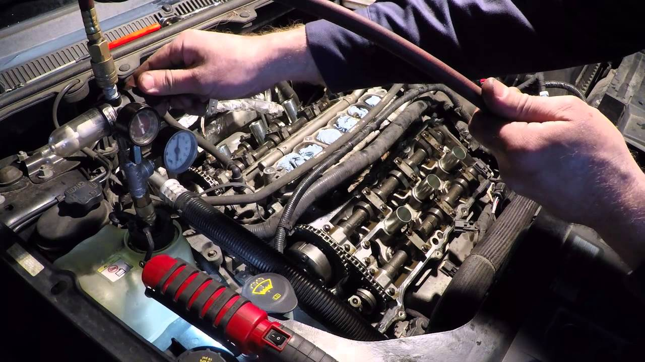Part 1 Ford Flex oil leak, coolant loss, P0016 water pump replacement  YouTube