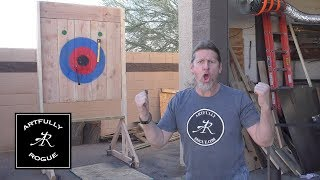 How to Build an Axe Throwing Target