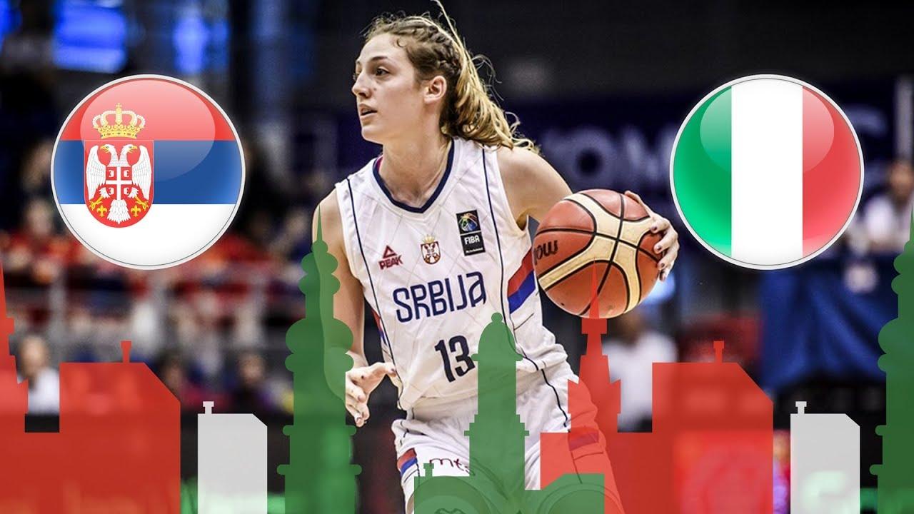 Serbia v Italy - Full Game - Semi-Final