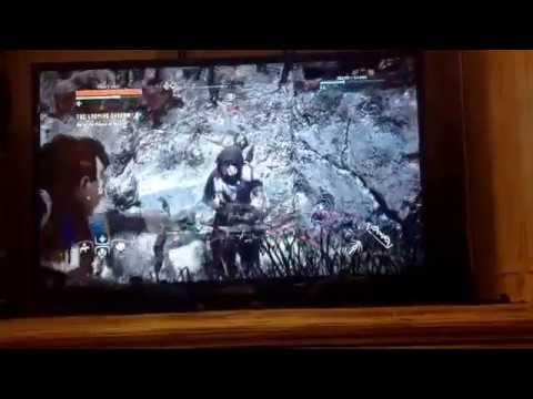 Horizon Zero Dawn gameplay liberating bandit camp