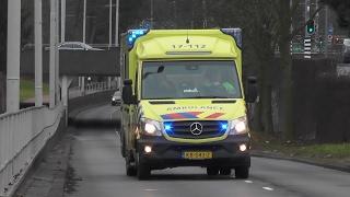 Ambulances 17-112 17-126 + 17-127 naar verschillende meldingen