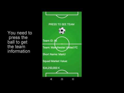 Creative Apps 2016-2017: Football Data API by Marcello Sala