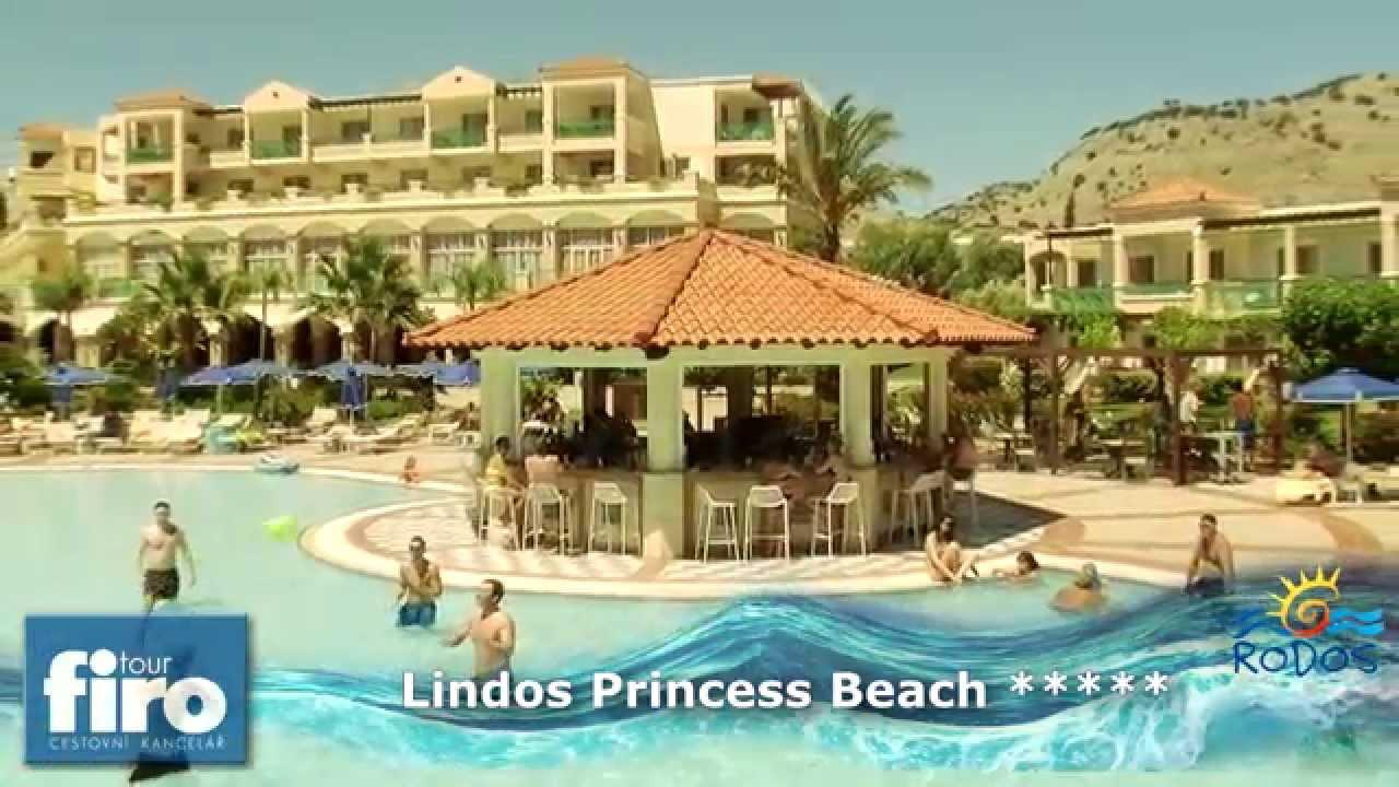 Hotel Lindos Princess Rhodos Recko Firo Tour