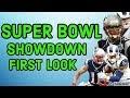 DRAFTKINGS NFL SUPERBOWL SHOWDOWN FIRST LOOK LINEUP | DFS PICKS