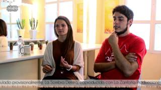 ENTREVISTA A DAVID SAINZ Y TERESA SEGURA  - V Festival de Cine y Tv Cinejoven [2015]
