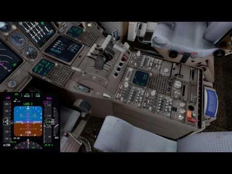 [P3D] PMDG 747-400 V3 Kai Tak Landing