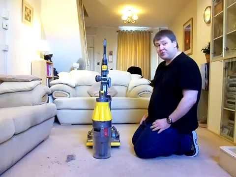 Dyson DC07 Origin (2008) Vacuum Cleaner Review / Demo
