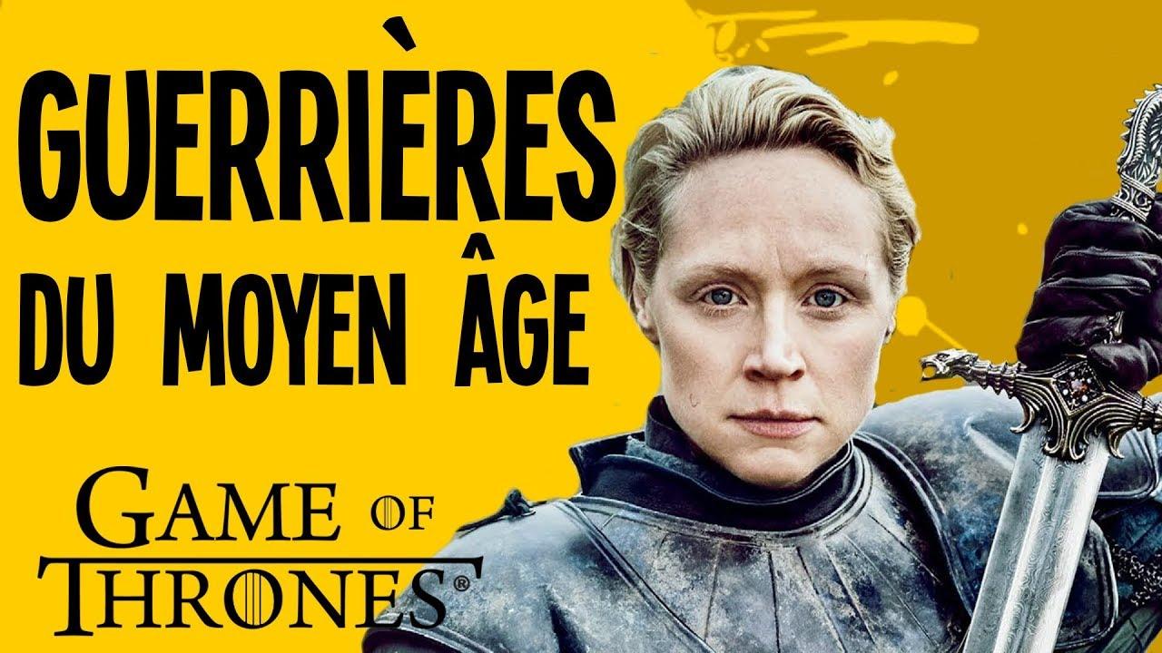 Brienne VS Jeanne d'Arc – Les guerrières du Moyen-âge et Game of Thrones