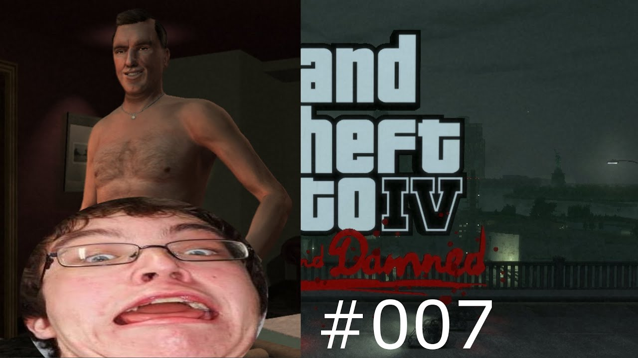 Solved. gta lost damned naked can