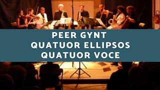 """Live Performance """"Dans la Halle du Roi de la Montagne """" E.Grieg String saxophone quartets"""