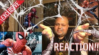 Marvel's Spider-Man – Gameplay Launch Trailer | PS4 REACTION!!