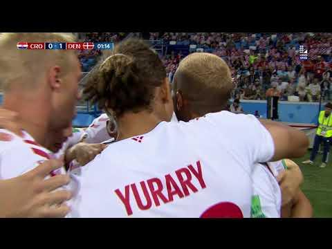 ¡GOL EN EL PRIMER MINUTO! | Croacia vs Dinamarca