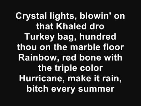DJ Khaled - Can't Stop [Feat. T-Pain & Birdman] (Lyrics)