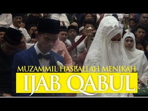 Muzammil Hasballah Menikah - Suasana Detik Detik Ijab Qabul Mantap