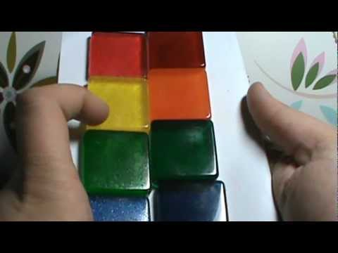 Resin Coloring Test 1: Classic Food Colors - YouTube