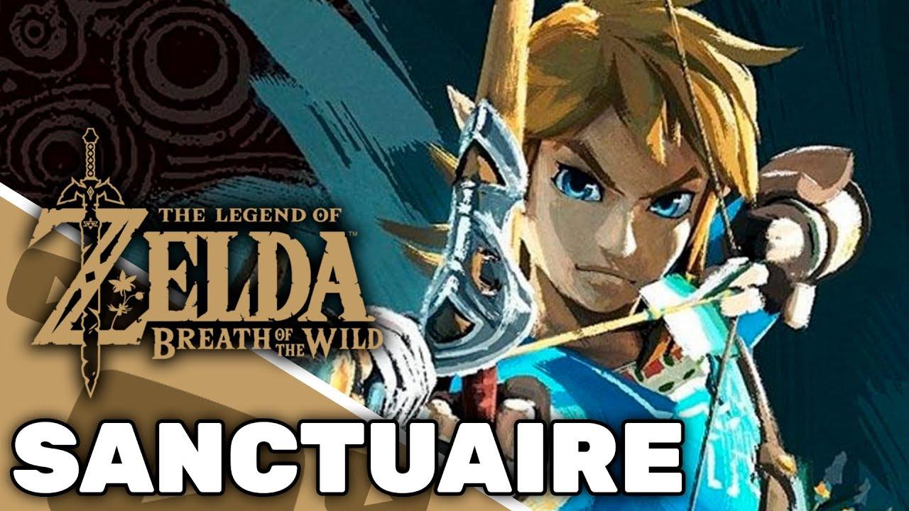 The Legend Of Zelda Breath Of The Wild Sanctuaire De