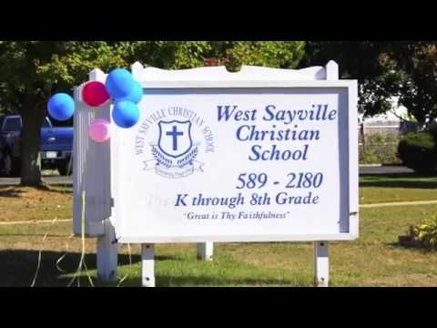 West Sayville Christian School Ad