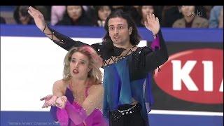 "[HD] Lobacheva & Averbukh - ""Toccata"" 2000/2001 GPF - Round 1 Free Dance"