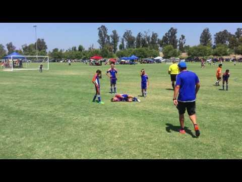 VC Fusion Boys 2006 vs. La Esperanza  7-29-2017 - 1st half