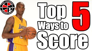 top 5 ways to score with 1 dribble   become a better scorer   pro training basketball