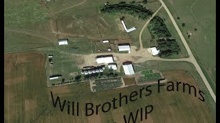 Will Brothers Farms Map WIP Update #3 Fields, Roads, And A Corn Harvest