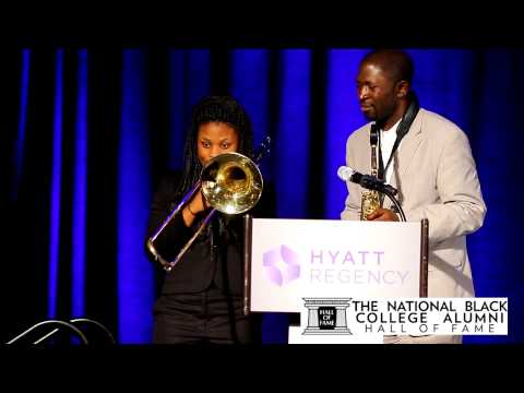Mike Phillips Performs W/Benjamin E. Mays HS Jazz Combo 2014 NBCAHOF Weekend