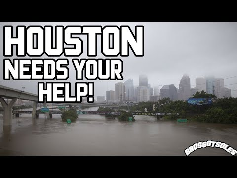 OUR CITY OF HOUSTON IS UNDER WATER!!!