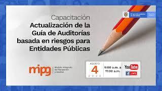 Capacitación Actualización Guía de Auditoría basada en riesgos para entidades públicas