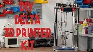 3D Printing Beginners Guide (Hardware) - 400$ DIY Delta 3D Printer kit