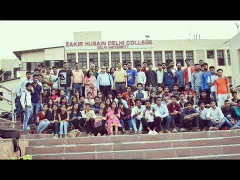 Farewell party video hindi honors 3rd year zakir husain delhi college