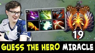 Guess the hero — Miracle TI winner edition