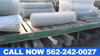 Chain Link Fencing Supply Orange County CA (562) 242-0027
