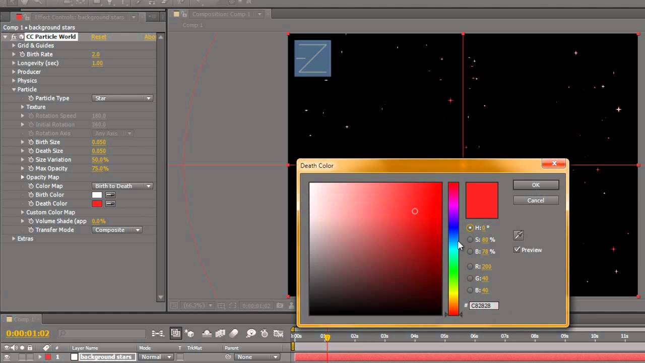 How to Create a twinkling star effect in Adobe After Effects « After