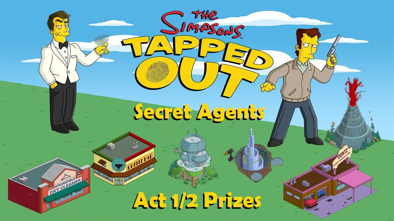 Super mystery box prizes in simpsons