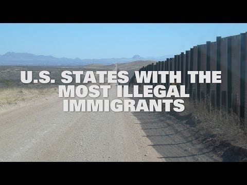 Top 10 US States With The Most Illegal Immigrants 2014
