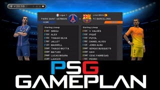 PES 2013 - Best (Paris Saint-Germain) Gameplan / Formation !!! (HD)