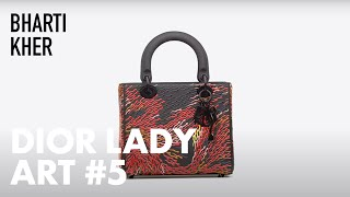 Discover Bharti Kher's Bindi-Themed Creations for 'Dior Lady Art'