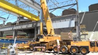 Nueva Colada Continua de Desbastes de Acero de Ternium Siderar