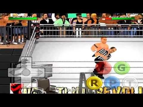 Wrestling revolution matches: John cena vs. The rock #1