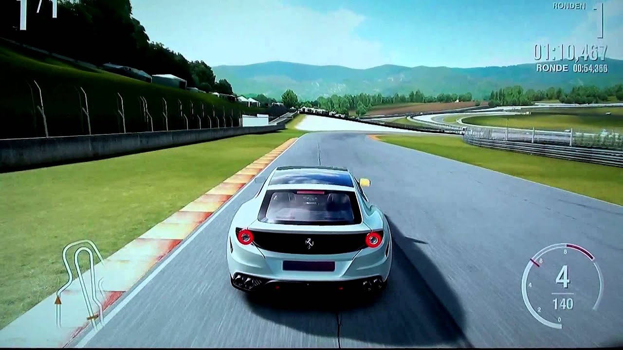 Ferrari FF Novitec Rosso Gameplay Acceleration Sound