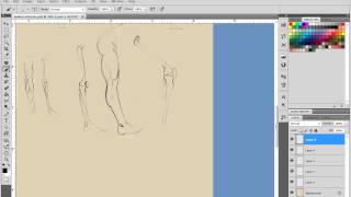 How to draw figures: 65 hour Anatomy Figure course to draw figures