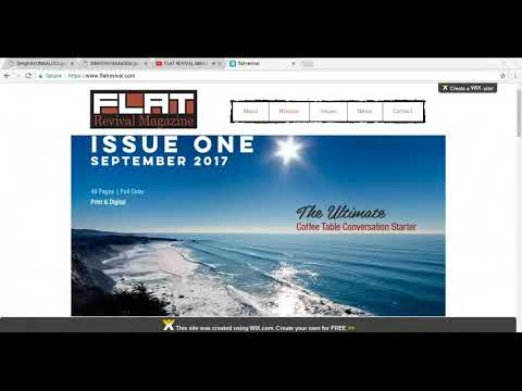 GLOBE AGNOSTIC SOCIETY - FLAT REVIVAL MAGAZINE, FEMA CAMP, AND OTHER UPDATES