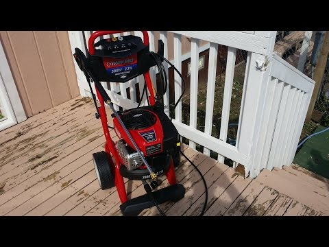 Does a 2800 PSI Troy Bilt Pressure Washer Remove Paint?