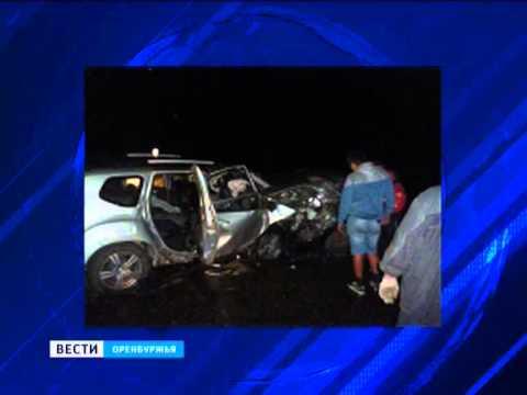 В Грачёвском районе произошла страшная авария
