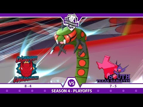 Yanmega Just Chillin! | NPA S4 Playoffs Battle | Durham Druddigons VS South Texas Sableye