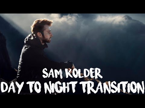 SAM KOLDER Night to Day Walking Transition || My Year 2016 || FCPX